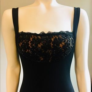 NWT Cache Beaded Gown